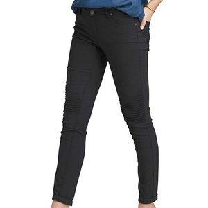 Prana Black Moto Brenna Pants